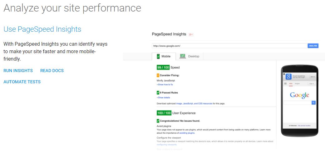 Google's-PageSpeed-Tools ソーシャルメディアを通じてより多くの製品を売る5つの方法